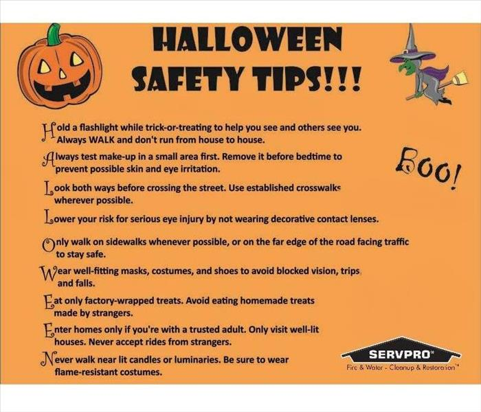 Fire Damage Halloween Safety Tips