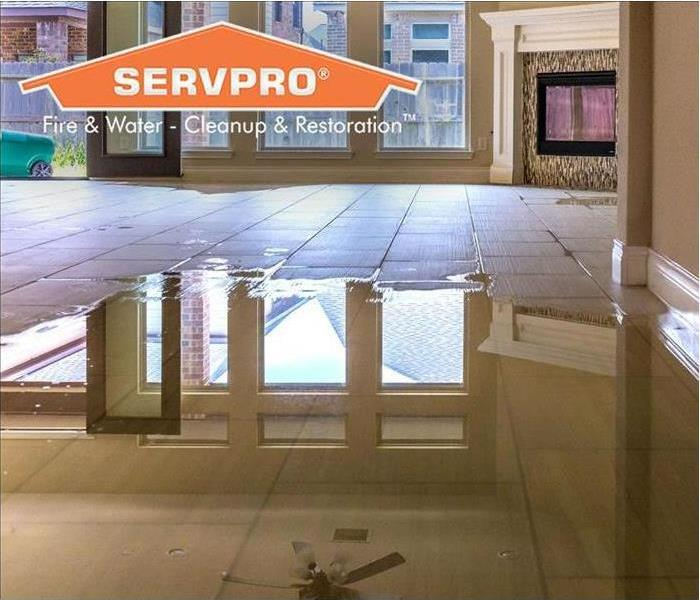 SERVPRO water damage