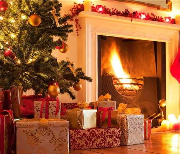 Fire Damage Christmas tree Fire Safety